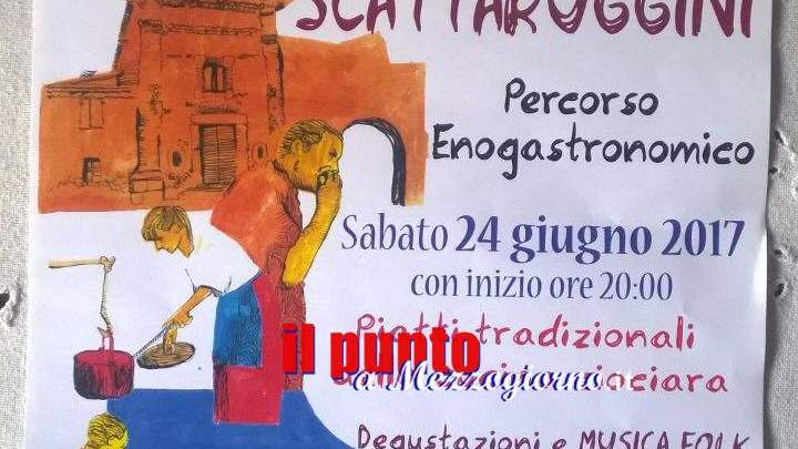 Borgo in festa a Scattaruggini di Veroli, cucina e musica nel cuore di Ciociaria