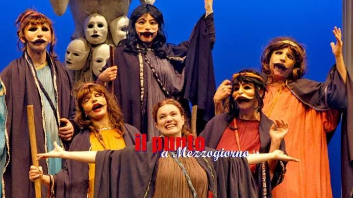 """Formia – """"Festival del Teatro Classico"""", ultimo appuntamento nel segno di Aristofane. Sabato 29 in scena """"Le donne al Parlamento"""""""