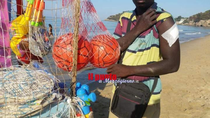 VIDEO – Venditore accoltellato per un pallone a Gaeta, l'uomo torna a lavorare