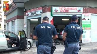 """""""Cassino è piazza nostra"""", sgominata la banda che imponeva le regole agli autolavaggi"""