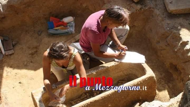 Sarcofagi all'Olimpico, continua a riemergere la Roma nascosta