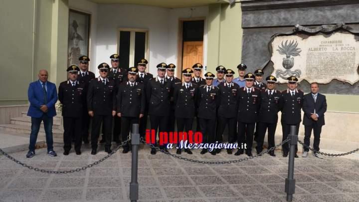 Sora: Il colonnello Giuseppe Tuccio saluta le autorità locali