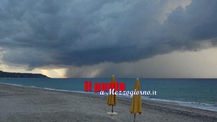 Formia: allerta meteo per le giornate di domenica e lunedì. L'invito del sindaco alla prudenza.