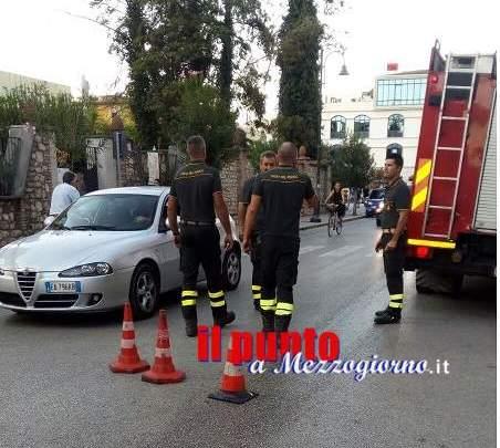Una perdita d'olio da un automezzo, in via D'Annunzio, provoca una serie di cadute
