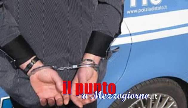 Tentato furto, danneggiamento e resistenza a P.U. la polizia arresta un uomo del cassinate
