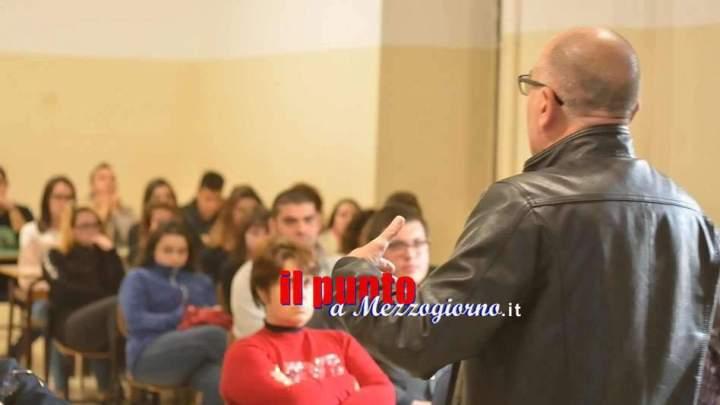 """Gli allievi dell'Agrario di Alvito a """"scuola di funghi""""  con gli esperti della Asl"""