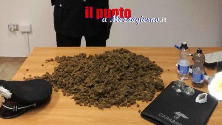 Nascondeva due chili di marijuana in casa a Frosinone, arrestato 23 enne
