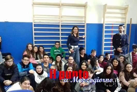 Educare alla legalità, a polizia fra i banchi di scuola a Pontecorvo