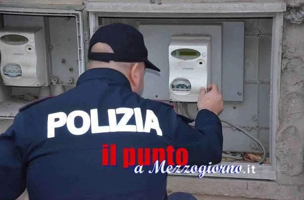 Furto di energia elettrica ad un ignaro utente, indaga la polizia