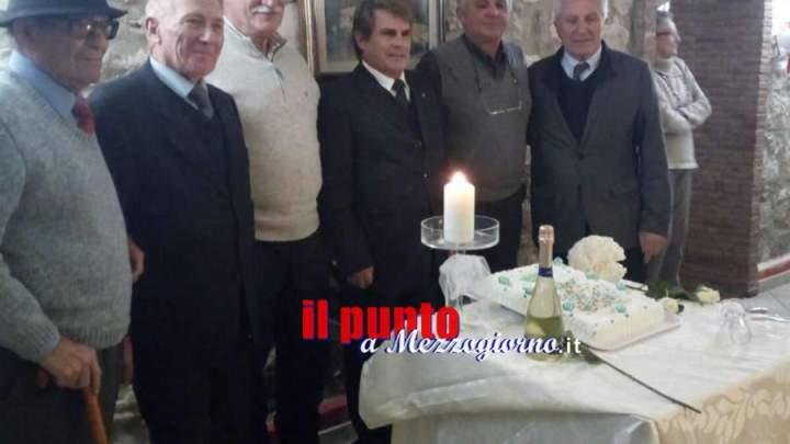 Cassino, Pranzo sociale per la delegazione Anps