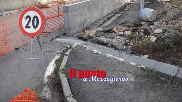 Cantiere pericoloso nel Borgo San Giacomo a Cervaro, le preoccupazioni dei residenti