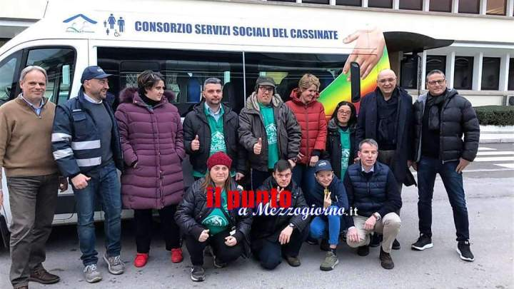 Cassino, Wepa a sostegno dei ragazzi del Consorzio dei Servizi Sociali. Donazione per Happy Day Fish