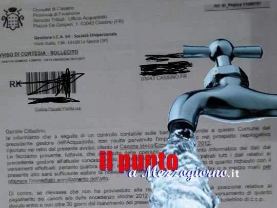 Bollette idriche 2012, quella scorrettezza morale dell'istituzione che fa affogare il senso civico