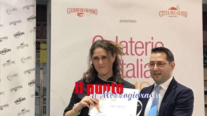 Formia, Gambero Rosso premia GretelFactory per miglior gelato d'Italia