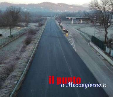 Superstrada Cassino-Sora, riapre oggi nel tratto tra Vicalvi e Casalvieri