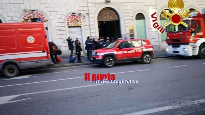 Fuga gas a Roma, evacuata una palazzina in via Cavour