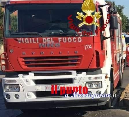 Incendio in due locali della scuola Calamatta di Civitavecchia