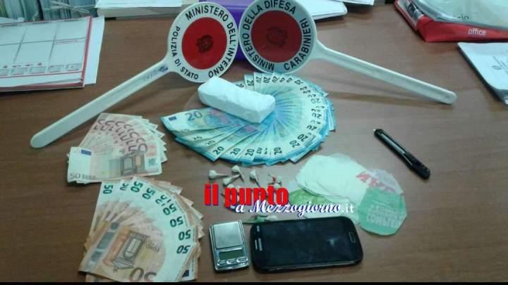 Spaccio di droga: operazione congiunta di Polizia e Carabinieri. In manette due persone
