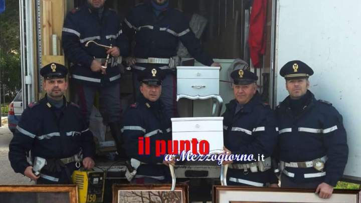 Svaligia mobilificio a San Vittore del Lazio, 40enne arrestato sull'A1