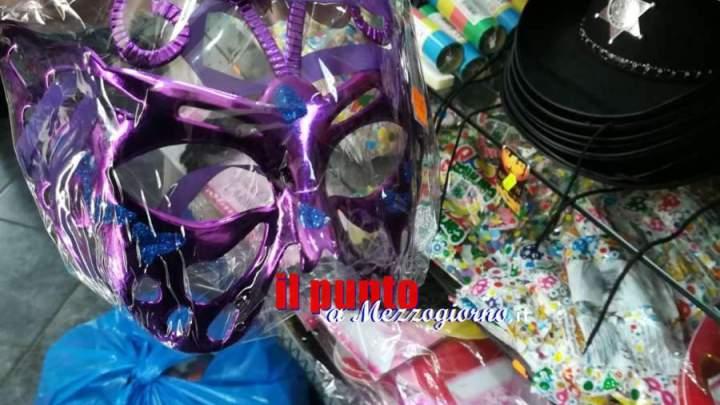 Carnevale sicuro, sequestrati dal Nas materiale pericoloso