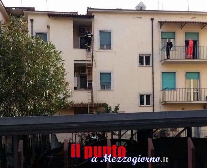 Malore in casa per una anziana di Cassino, donna salvata dai vigili del fuoco