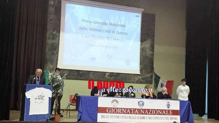 Cassino: Emozione per la Prima giornata delle Vittime Civili delle Guerre e dei conflitti nel mondo