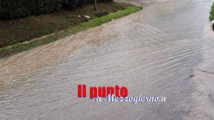 A Sant'Apollinare strade allagate e pericolose: disagi ai cittadini