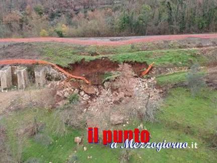 Causa frana, niente treni per 30 giorni tra Arpino e Arce sulla Roccasecca-Avezzano