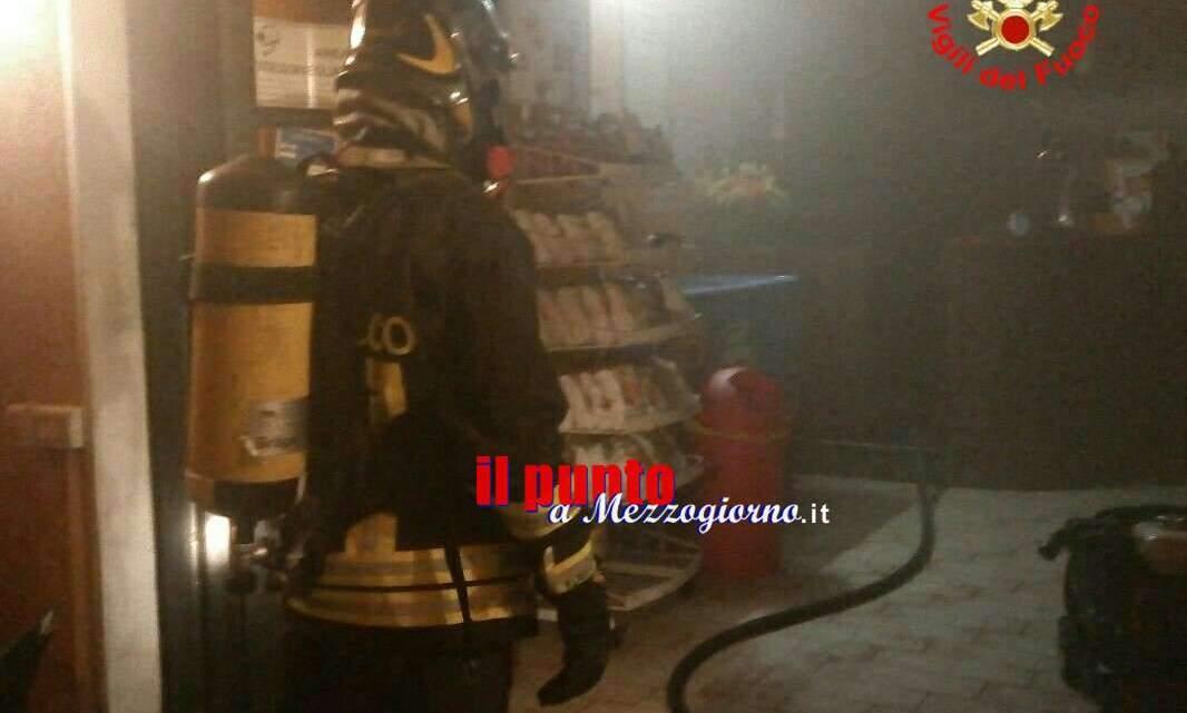 Incendio in abitazione ad Aquino, salvi due anziani