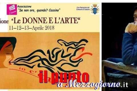 """Successo per """"Le donne e l'Arte"""", le opere degli studenti di Cassino miglior omaggio a Giampiero Patamia"""