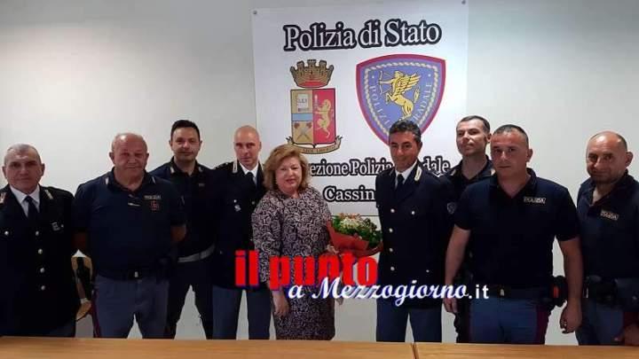 Visita del Prefetto della Provincia di Frosinone alla Sottosezione Polizia Stradale di Cassino