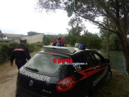 ricerche fiume carabinieri4