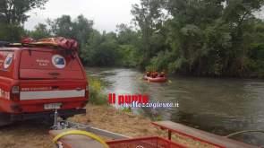 ricerche fiume vigili del fuoco