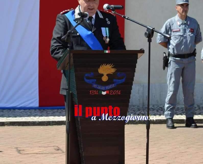 Festa dell'arma dei Carabinieri, nei primi 5 mesi reati in calo del 5%