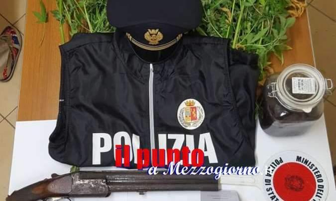 """Orto """"stupefacente"""" nelle campagne di Cassino, arrestati moglie e marito che coltivavano marijuana"""