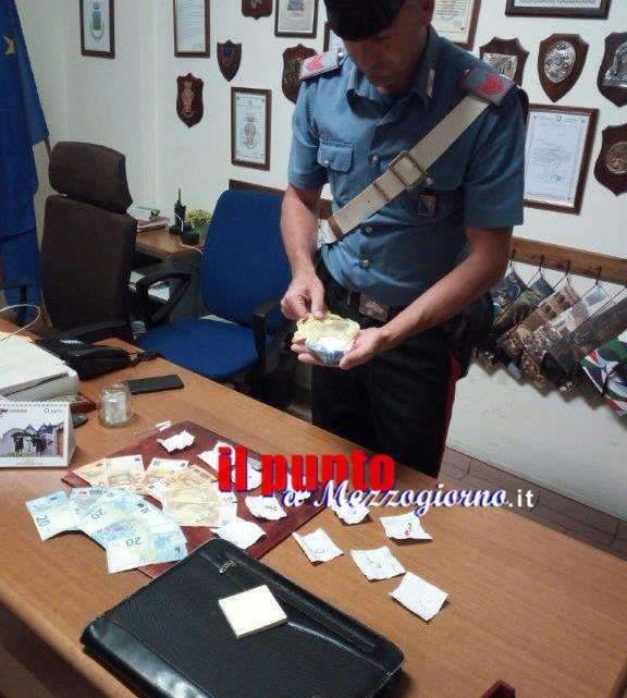 Droga e soldi sequestrati ad Arce, coppia di 36enni in manette