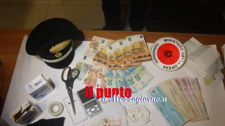 Spacciatrice casa e bottega a Sora, arrestata 38enne