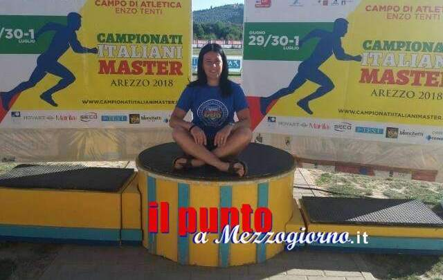 Il Cus-Cassino trionfa anche ai Campionati Italiani Master di Arezzo