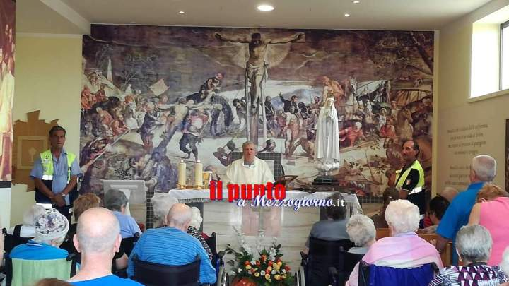 La Madonna di Fatima in visita alla Rsa San Germano a Piedimonte
