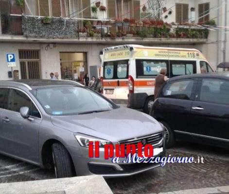 Bambina di un mese rischia di morire soffocata, momenti di panico a San Vittore del Lazio