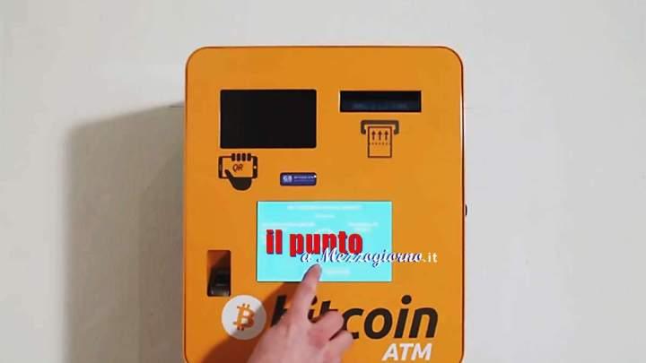 Il primo Bancomat Bitcoin del Lazio e del centro Italia si trova a Cassino