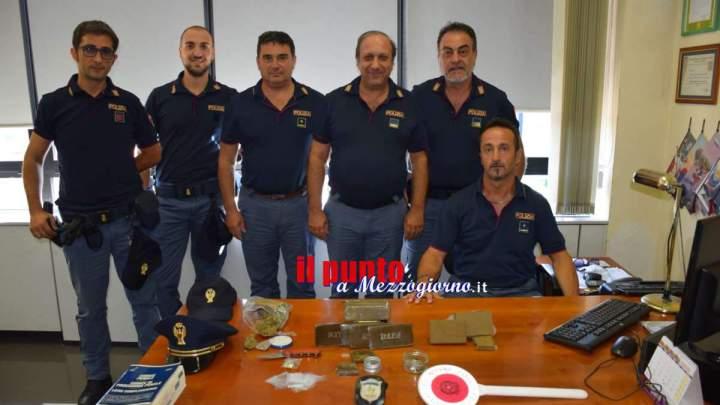 Magazzino della droga in casa di 26enne a Frosinone, sequestrato 1,6 kg di stupefacente