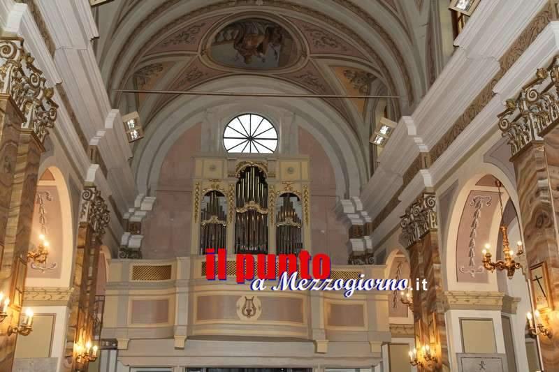 Restaurato l'antico organo Spadari a Vico nel Lazio