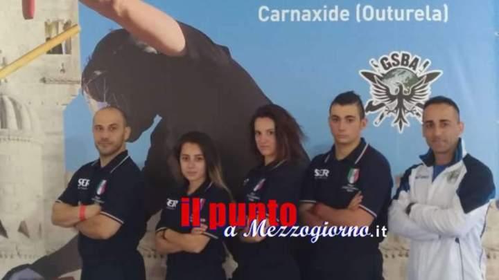 Dieci medaglie Ciociare ai mondiali di Stick Fighting a Lisbona
