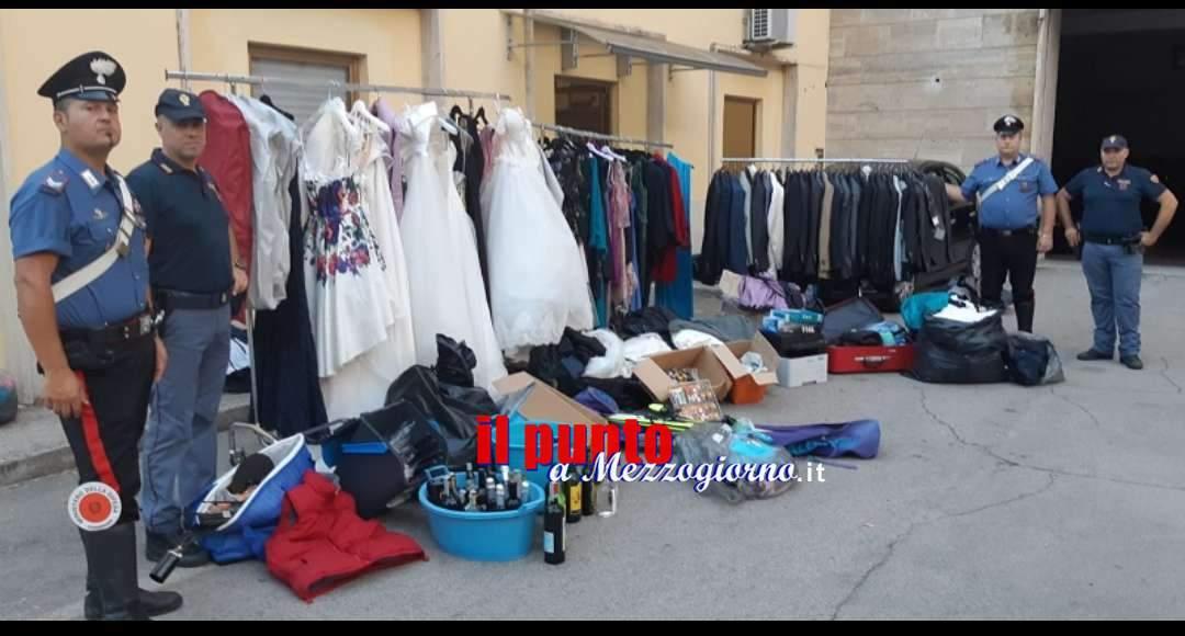 Recuperati gli abiti da sposa rubati nei giorni scorsi. Salvo il Sì per molte coppie