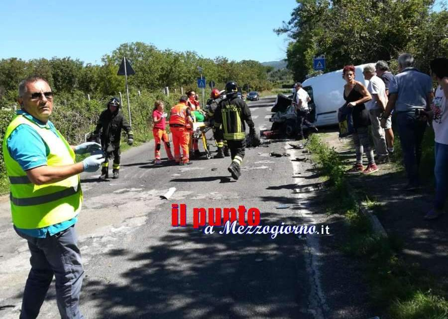 Incidente stradale nel viterbese, gravemente feriti due automobilisti
