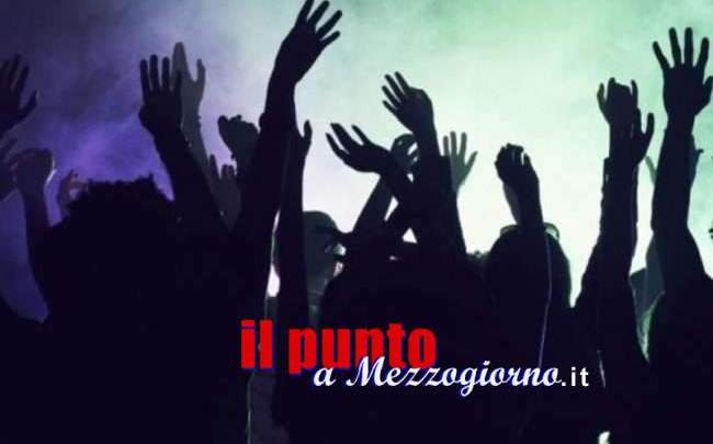 Rave party ad Arce, denunciati 50 giovani