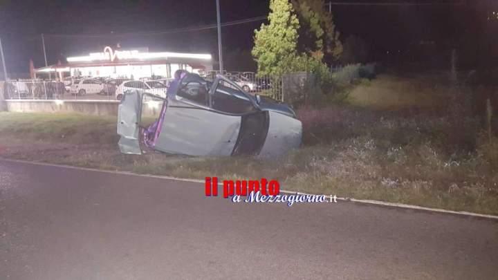 Incidente stradale sulla Casilina, nella carambola di due auto restano ferite tre persone