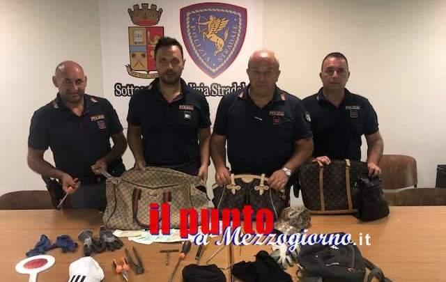 Furto in abitazione a Cassino ma i ladri cadono nella rete della Polstrada
