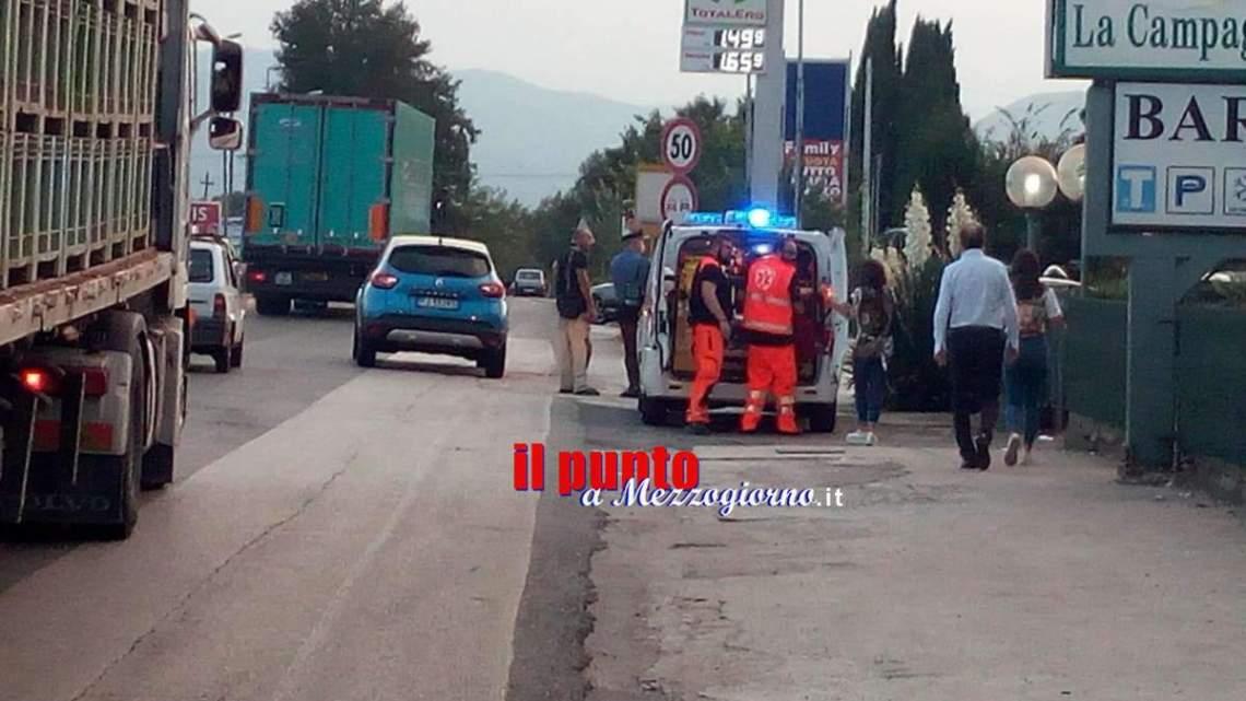 Pedone investito sulla superstrada Cassino Formia, l'uomo è in gravi condizioni
